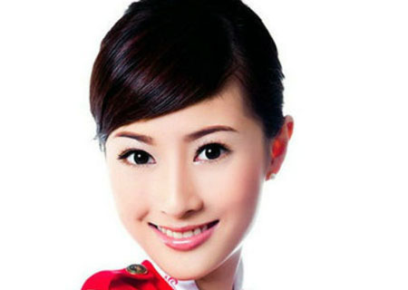 看图说事 盘点中国十大美女明星空姐
