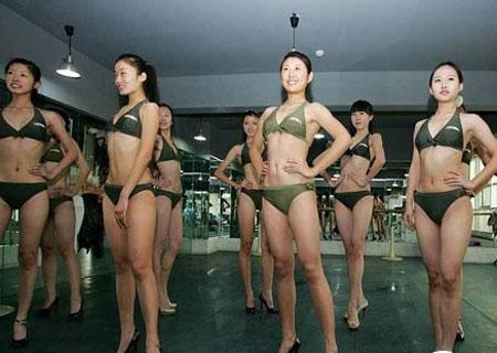 山东准模特为2012艺考备战