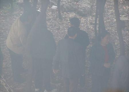 南昌图书馆外小树林里 观雪听雨 搜狐博客