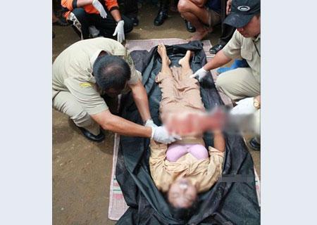 溺死的女尸体 搜狐