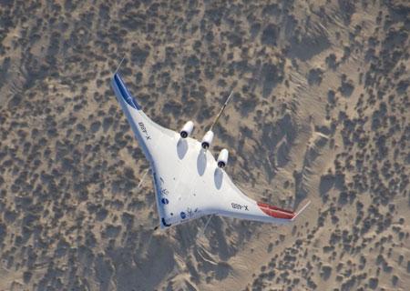 美国未来飞机:x48b